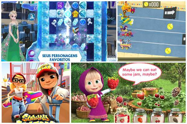 10 Jogos Infantis e Divertidos para Crianças
