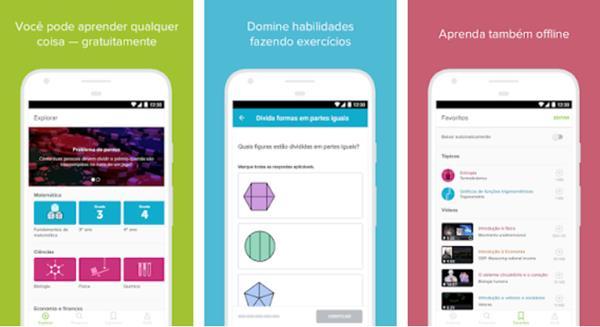 10 Aplicativos para Estudar com Material para Todas as Áreas!