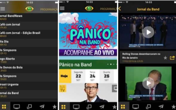 aplicativo-de-tv-band
