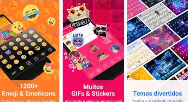 aplicativo-teclado-emoji-kika