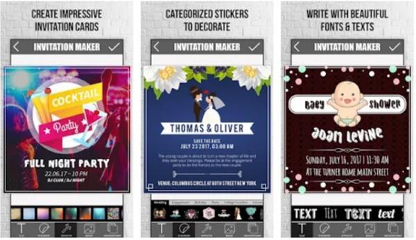 10 Aplicativos Para Fazer Convites Aplicativos Grátis