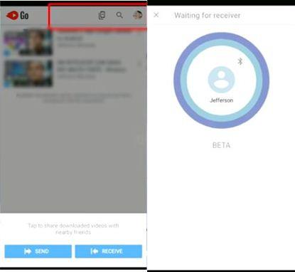 baixar vídeos com YouTube Go