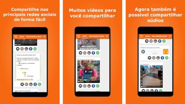como compartilhar videos do facebook no whatsapp pelo iphone