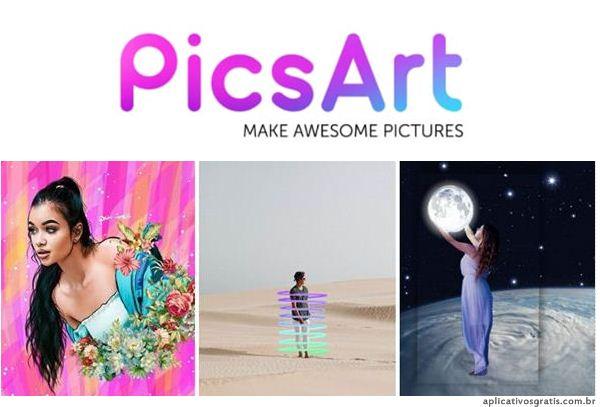 PicsArt - Editor de Imagens e Colagens Completo!