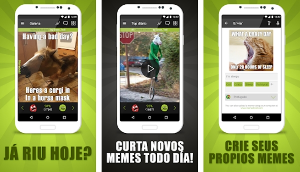 10 Aplicativos de Memes Fresquinhos para Ver e Criar!