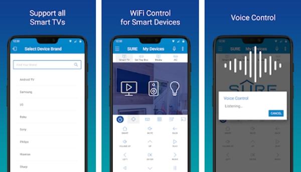 Aplicativos de Controle Remoto para TV, Ar Condicionado e Mais!