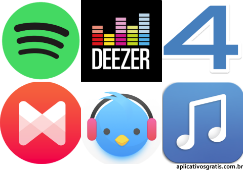 15 Aplicativos de Música para Android e iPhone